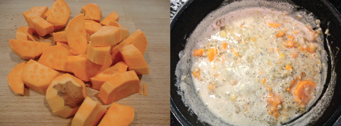 Baked Crème Brûlée Sweet Potato Oatmeal | Eye It. Try It.